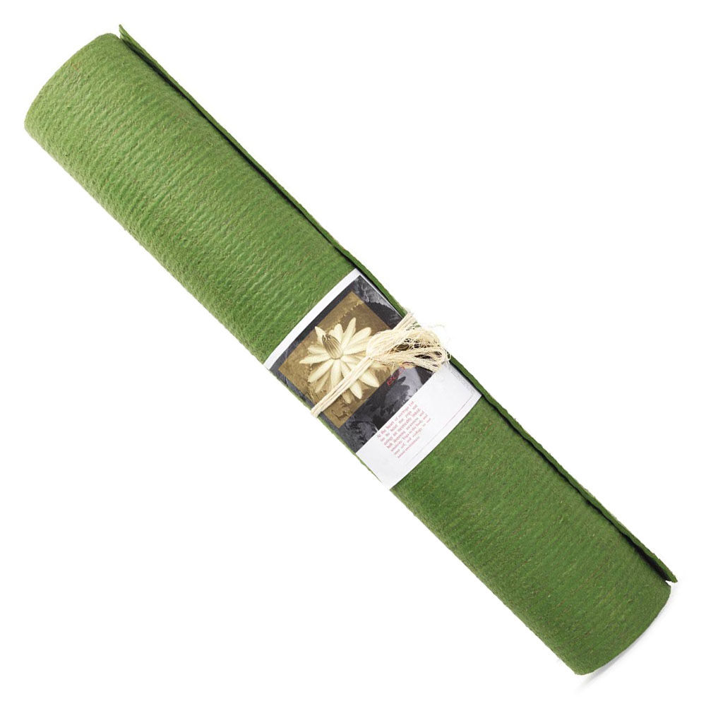 yoga måtte grøn
