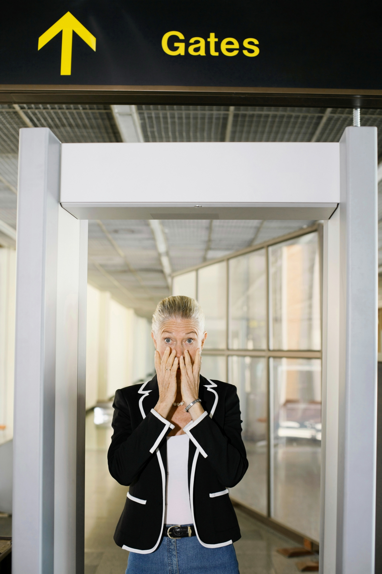 stress i lufthavnen